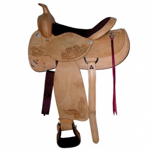 Western eco saddle